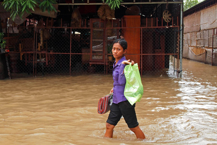 Siem Reap flooded